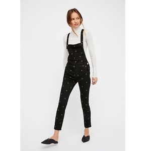 Free People We the Free Embroidered Overalls 25